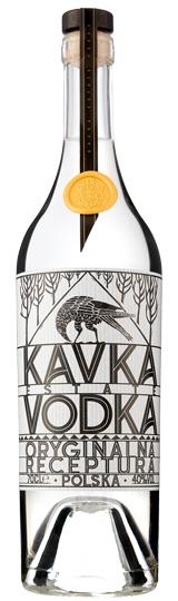 Vodka Traditional Polish Kavka 70CL