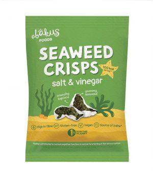 Seaweed Crisps - Salt & Vinegar