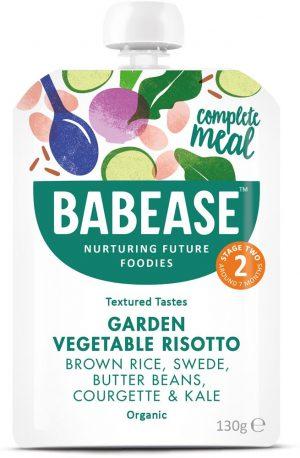 Organic Garden Vegetable Risotto 130g