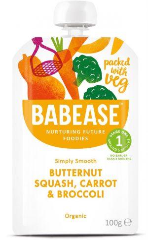 Butternut Carrot & Broccoli 100g