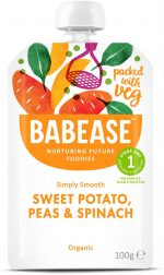 Sweet Potato Peas & Spinach 100g