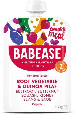 Organic Quinoa Beetroot Butternut Squash & Kidney Beans 130g
