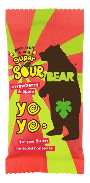 Super Sour Yoyo Strawberr 20g