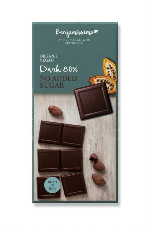 No Added Sugar / Dark 80% 70g