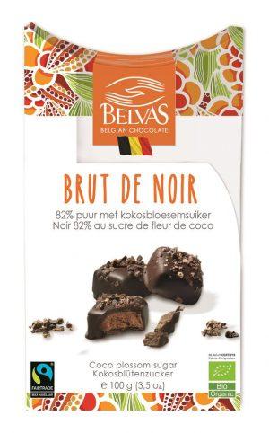 Organic Brut de Noir 82% cacao 100g