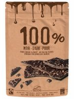 Belgian Thins Dark 100% With Pure Cacao Nibs 80g