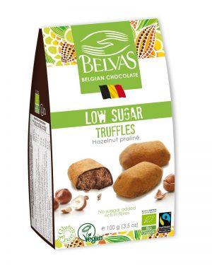 Low Sugar Hazelnut Truffles