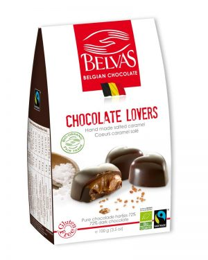 Organic Chocolate Hearts 100g
