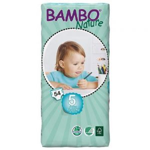Bambo Junior Nappies 54spieces