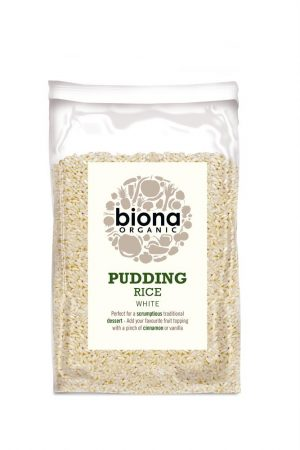 Organic Pudding Rice 500g