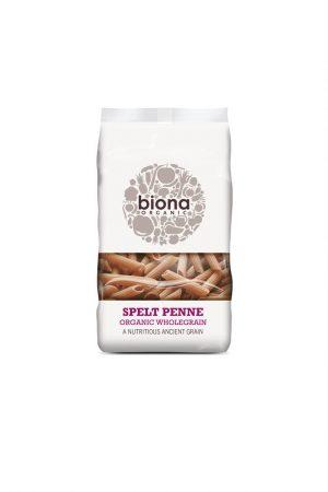Organic Wholemeal Spelt Penne 500g
