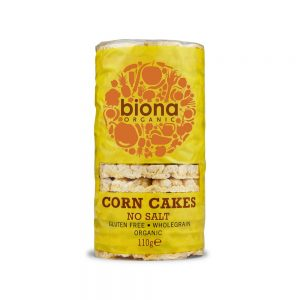 Corn Cakes No Salt Organic - 100% Corn 110g