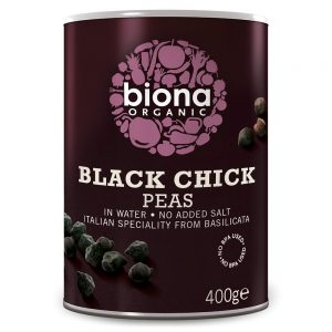 Organic Black Chickpeas 400g