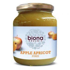 Organic Apple Apricot Puree 350g