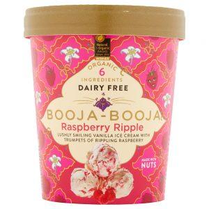 Raspberry Ripple Dairy Free Ice Cream 500ml