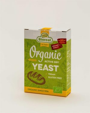 Organic Active Dry Yeast AF 5x9g box