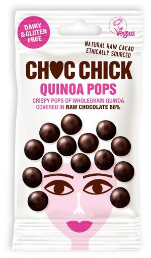 Popped Quinoa in Raw Chocolate 30g