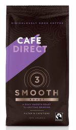 Smooth Roast Strength 3 Fairtrade Ground Coffee 227g
