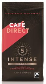 Intense Roast Strength 5 Fairtrade Ground Coffee 227g