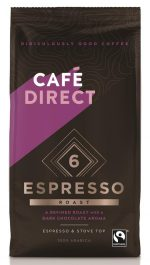 Espresso Roast Strength 6 Fairtrade Ground Coffee 227g