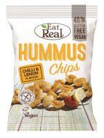 Hummus Chips Lemon Chilli 135g