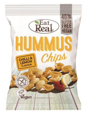 Hummus Chips Lemon Chilli 135g