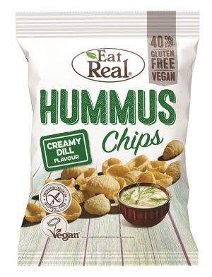 Hummus Chips Creamy Dill 135g