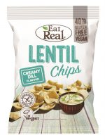 Lentil Chips Creamy Dill 113g