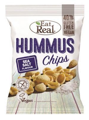 Hummus Chip Sea Salt 45g