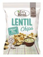 Lentil Chips Creamy Dill 40g