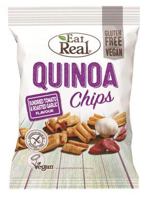 Quinoa Sundried Tomato And Roasted Garlic Chips 80g