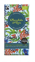 Dark Chocolate Caramel & Sea Salt 55%