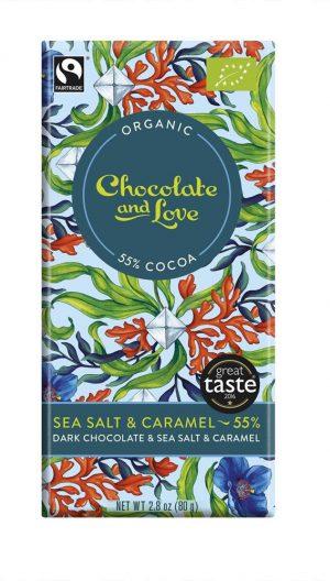 Dark Chocolate Caramel & Sea Salt 55%