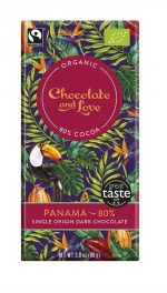 Organic /Fairtrade Extra Dark Panama Chocolate 80%
