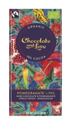Dark Chocolate Pomegranate 70%