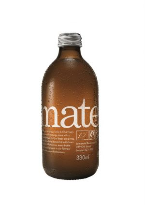 Mate Organic Fairtrade Sparkling Iced Tea 330ml