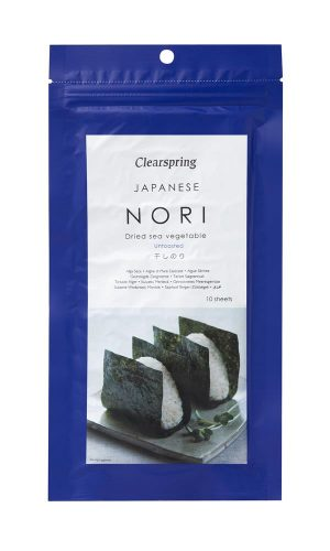 Nori Untoasted - 10 Sheets