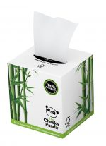 100% Bamboo Facial Tissue Cube 3ply 56 Sheets