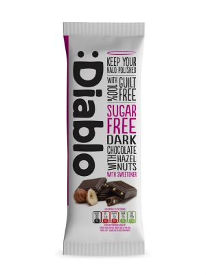 Dark Chocolate & Hazelnut 85g