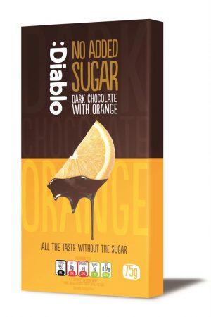 Dark Chocolate & Orange Bar 75g
