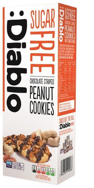 Choc Striped Peanut Cookies 150g