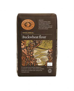 Organic Buckwheat Flour (non GF) 1kg
