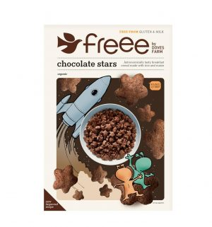 Gluten Free Organic Chocolate Star 300g