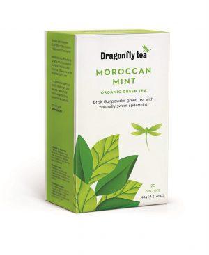 Organic Moroccan Mint Green Tea 20 Sachets