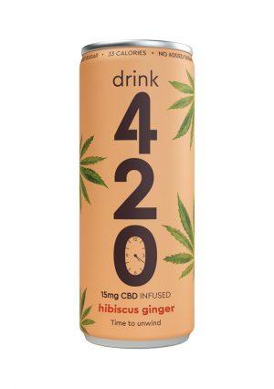CBD Infused Hibiscus Ginger 250ml