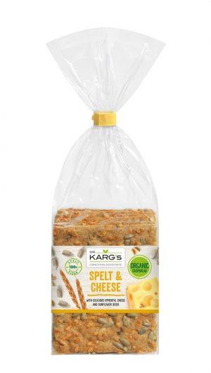 Organic Spelt Emmental Cheese Brea 200g