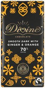 Dark Choc Ginger & Orange 90g