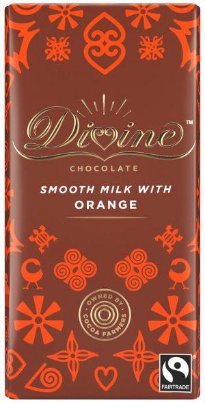 Orange Milk Chocolate 90g