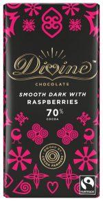 Dark Choc with Raspberries 90g