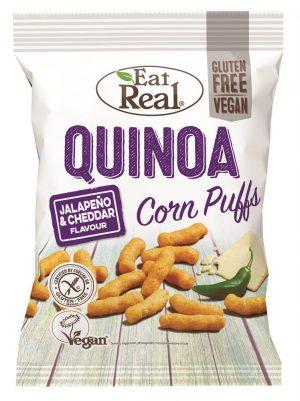 Quinoa Jalapeno & Cheddar Puffs 113g